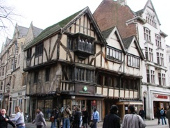 Timbered building, Cornmarket